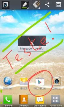 QuickMemo do LG Optimus L7