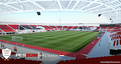 PES 2019 Stadium AFAS Stadion by Arthur Torres
