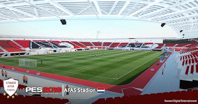 PES 2019 Stadium AFAS Stadion by Arthur Torres