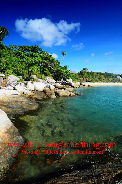 Pantai Gunung Namak Toboali Bangka Selatan Propinsi Bangka Belitung - Kekayaan wisata indonesia di Bangka Belitung