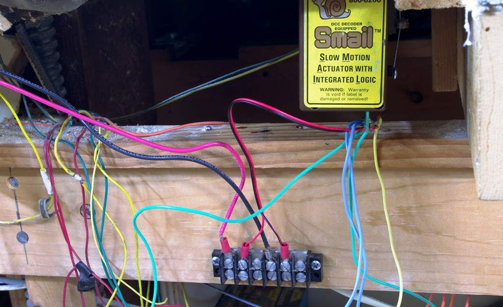 Model Railroad Miscellany Rewiring -- CP DRAINS
