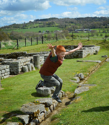 English Heritage Hadrian's Wall Chester's Roman Fort