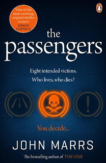 book cover of The Passengers by John Marrs