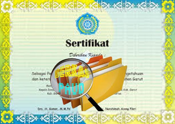 Download Cara Membuat Sertifikat PAUD / Ijazah PAUD / Piagam PAUD
