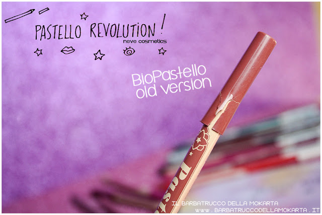 old version BioPastello Neve Cosmetics  pastello revolution
