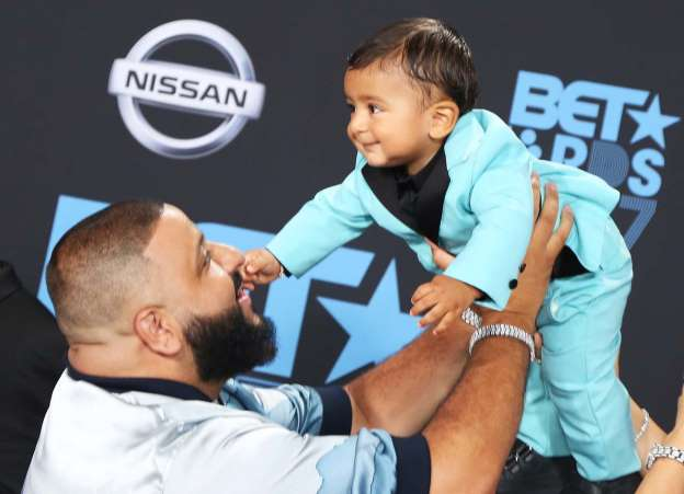 DJ Khaled Opens Up About His 'Legendary' Baby Boy Asahd at BET Awards: 'I Work For Him'