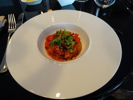 Entrée restaurant italien Officina Schenatti Paris 05 ème.