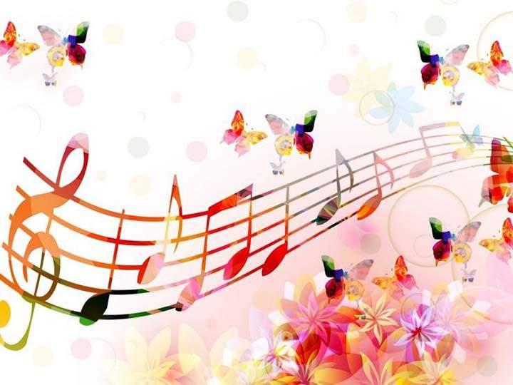 3 boyutlu nota ve çiçek resimleri