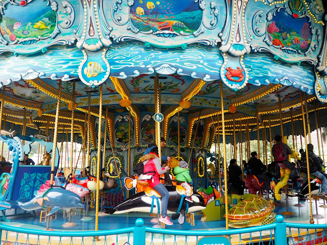 Sea Life Carousel in Ocean Park, Hong Kong