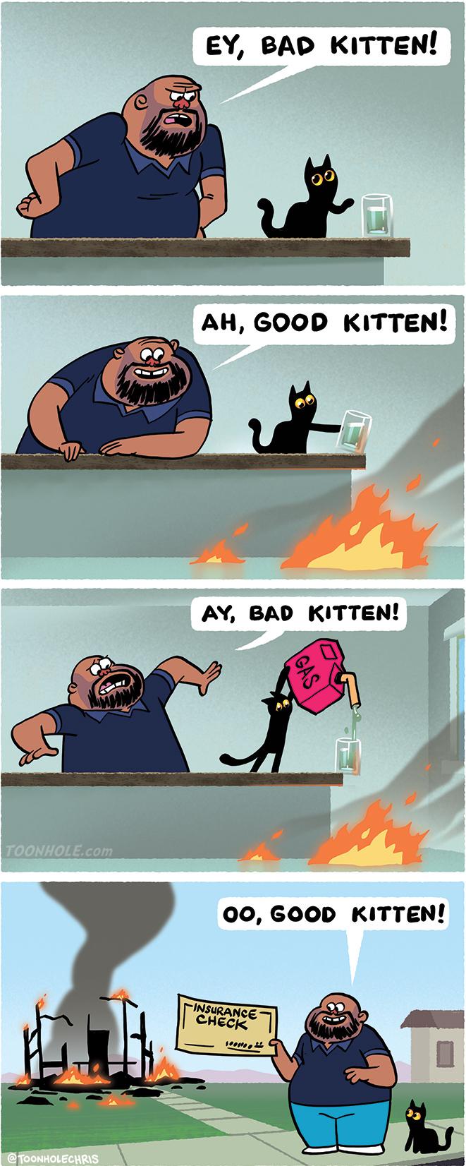 Good Kitten!