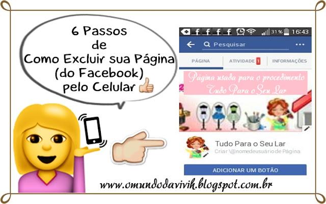 6 Passos de Como Excluir uma Página (do Facebook) pelo Celular