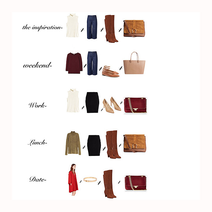 Fall fashion, capsule wardrobe, seventies, how to