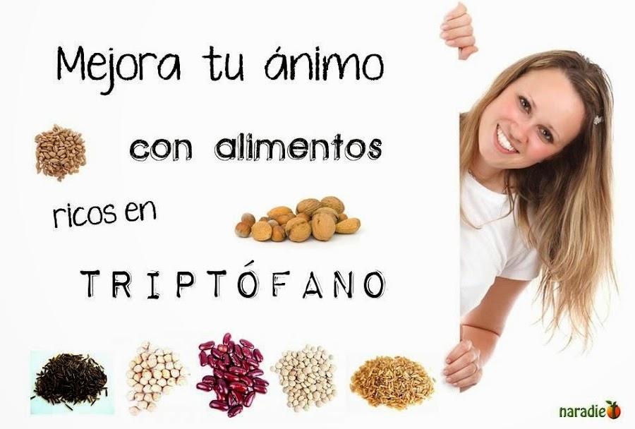mejora tu ánimo con alimentos ricos en triptófano