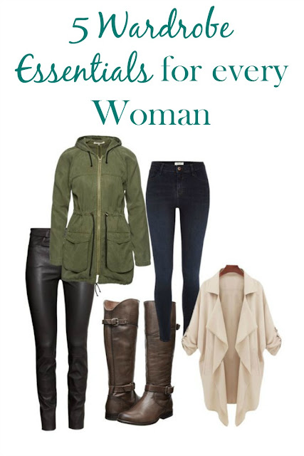 These are the 5 must have wardrobe essentials that every woman needs in her closet.