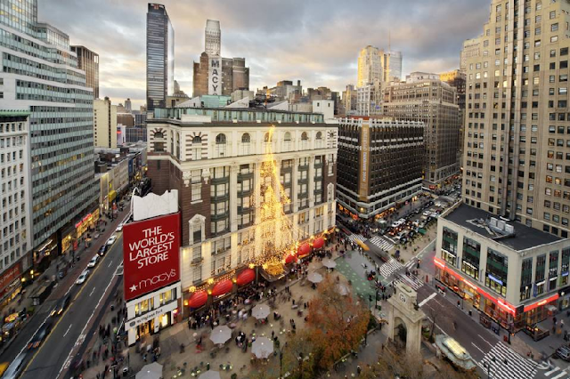 Black Friday na Macy's em Nova York
