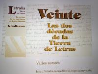 Letralia, maru genoud, 20 años, escritura creativa, antología, escritores latinoamericanos