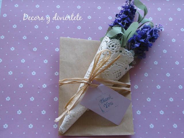 bodas , eventos , detalles , invitados , blondas papel , manualidad , DIY