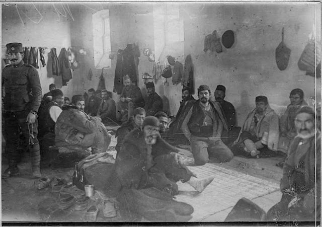 In the streets of Monastir (Bitola) (February 1917). A cell in prison