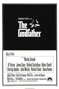 Poster original de El padrino