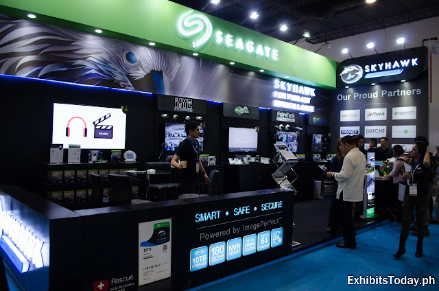 Seagate Skywhawk Exhibition Booth