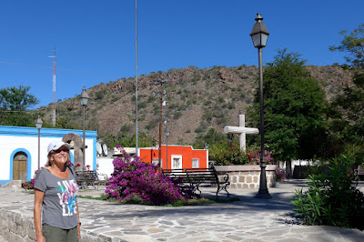 Liz in San Jose de Comondu, Baja California Sur
