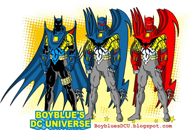 costumes of Azrael as Batman /suits