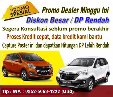 Daihatsu Balikpapan Dealer Promo Dp Ringan