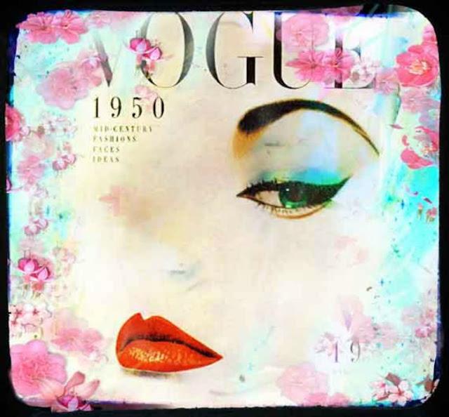 Fashion Art, Vogue Art, Fashion Art Illustration, Vogue Fashion Print, 1950s Fashion Art
