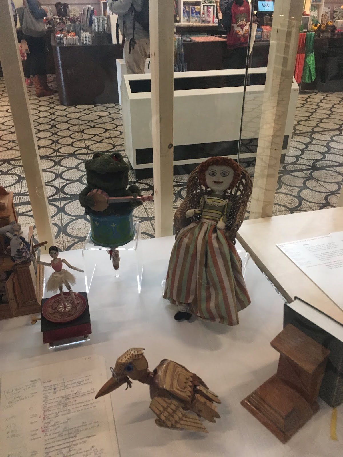 Gabriel the Frog, Madeline the Rag Doll, Professor Yaffle