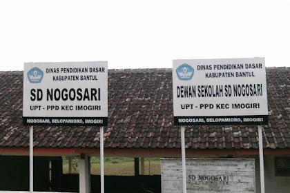 Profil Perpustakaan Sekolah SD NOGOSARI, Desa Selopamioro, Bantul Yogyakarta