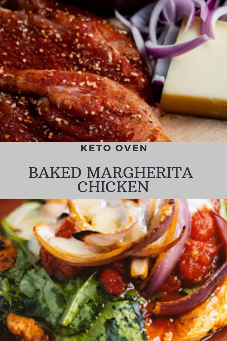 KETO OVEN-BAKED MARGHERITA CHICKEN RECIPE