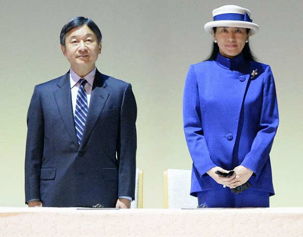 Crown Princess Masako style wore dress, diamond tiara, diamond gold earring, cluthbag, Gianvito Rossi shoes, fashion newmyroyals, style royal