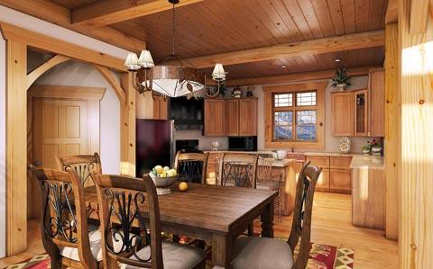 gambar desain rumah kayu minimalis modern terbaru | desain