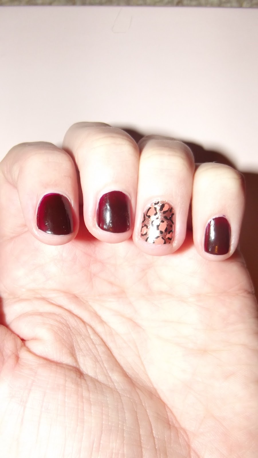Monday Manicure: WAH Inspired Nail Art By TOPSHOP