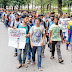 Gorkha Students, JNU in Solidarity with NBU fighting for Gender Justice