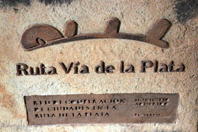 foto piedra camino de santiago