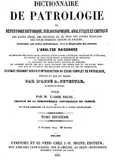 Dicionário de Patrologia