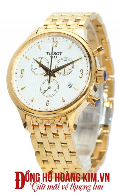 đồng hồ tissot nam dây sắt giảm giá chính hãng