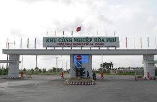 Bán thẻ cảm ứng ở Khu Công Nghiệp (KCN) Hòa Phú