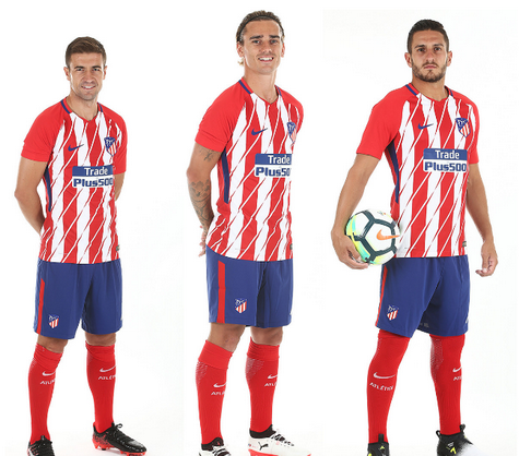 completo calcio Atlético de Madrid 2017