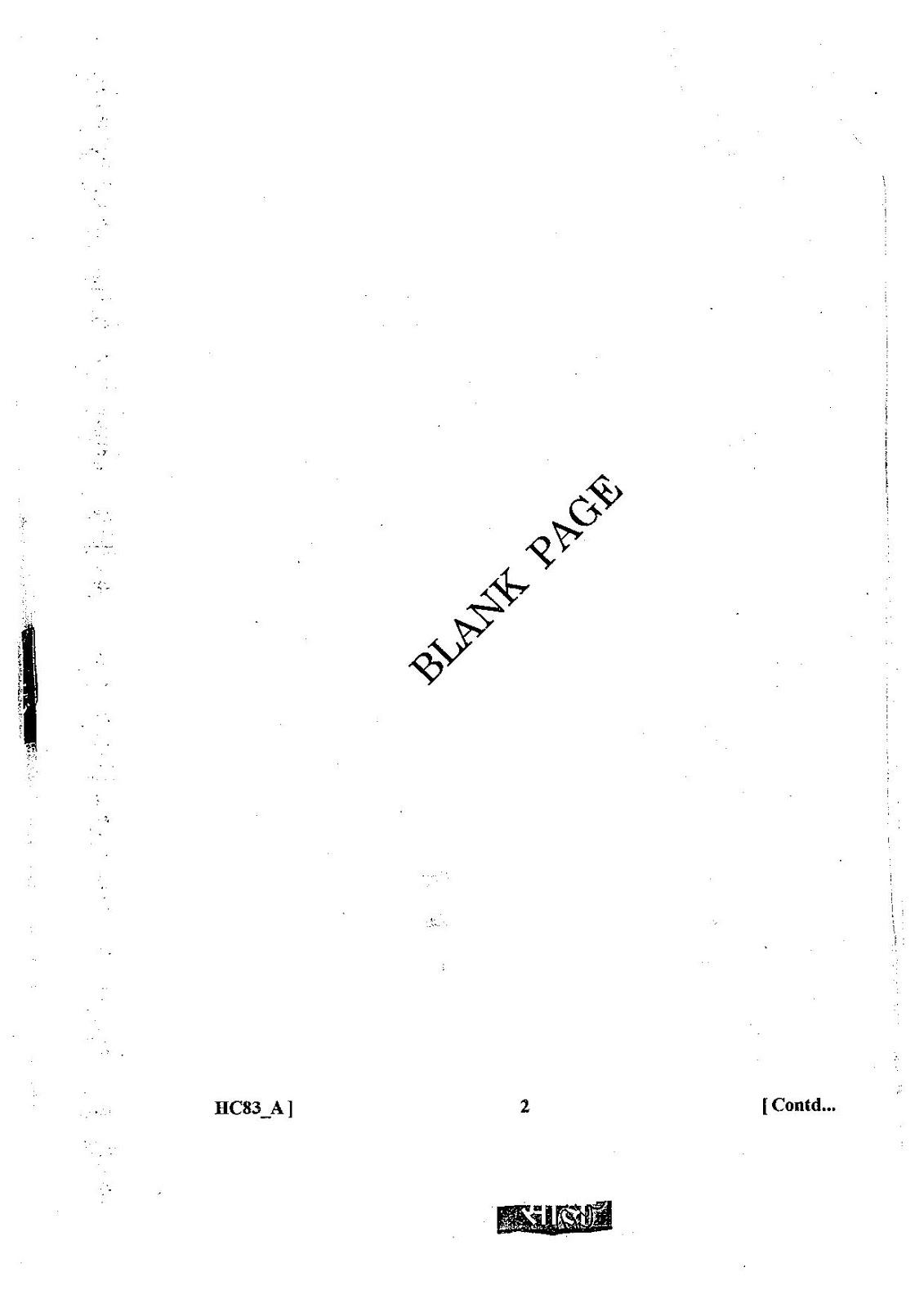 Bser Reet 2015-16 Sample & Model Paper Pdf