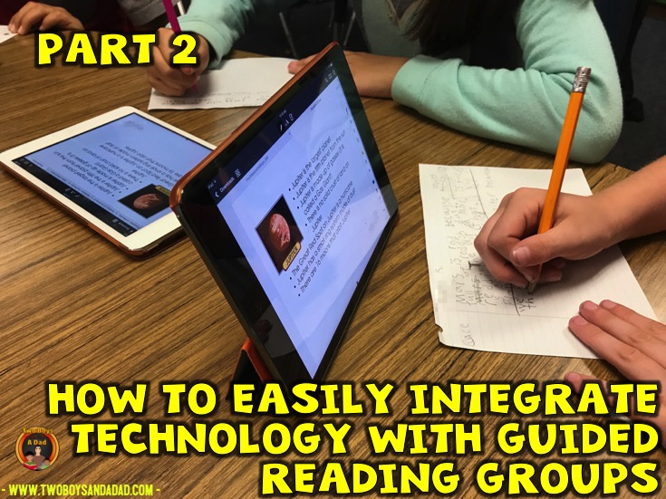 Integrating Technology with Guided Reading