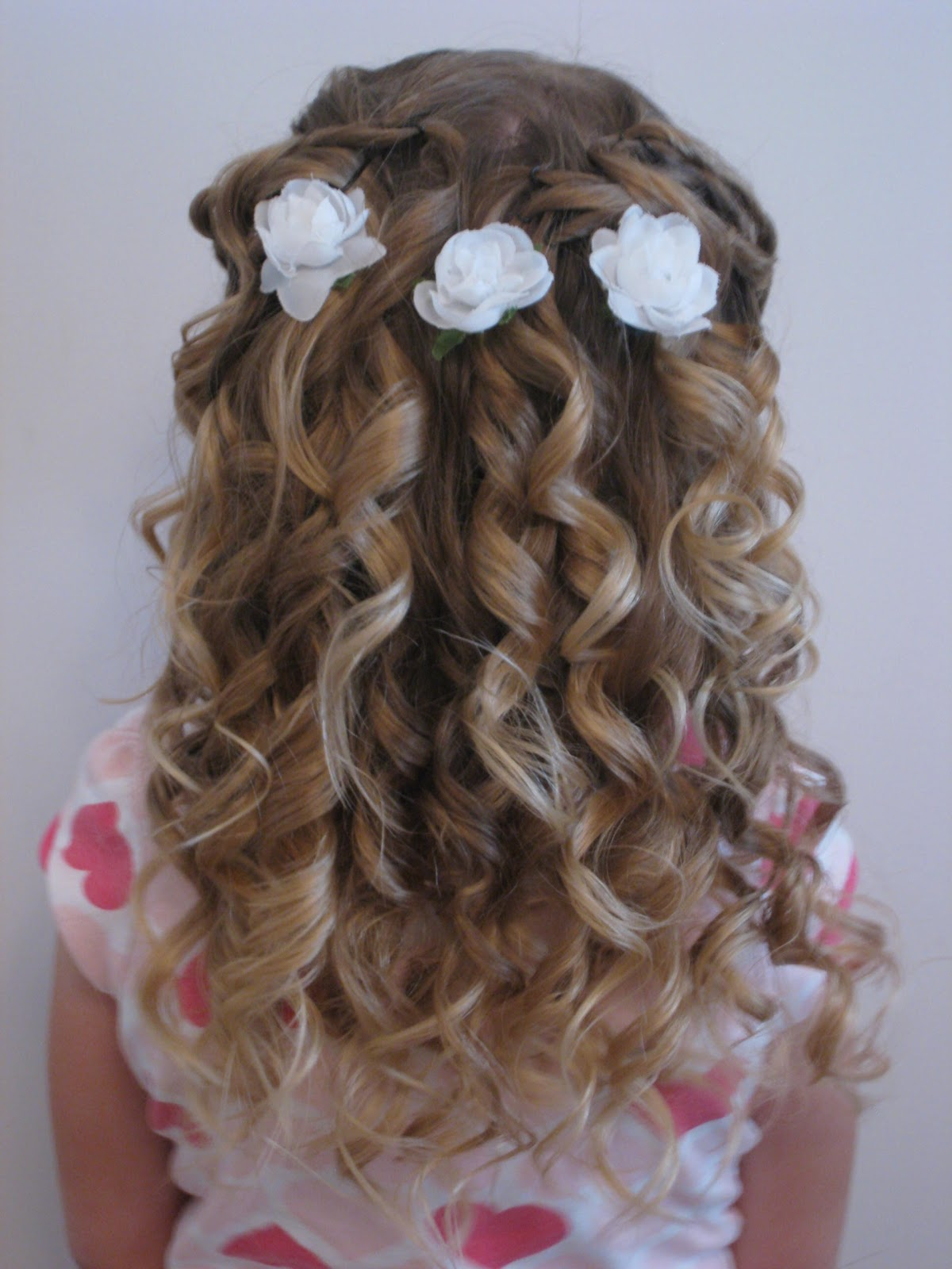 Flower Girl Hair Inspiration. 1200 x 1600.Hairstyles Girls Soccer