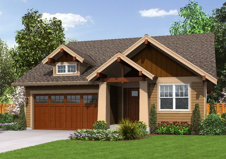 model rumah sederhana tampilan menarik bentuk rumah