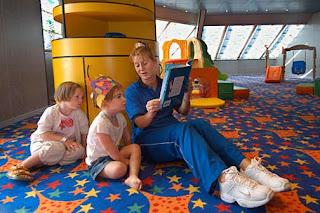 детский центр на круизном корабле