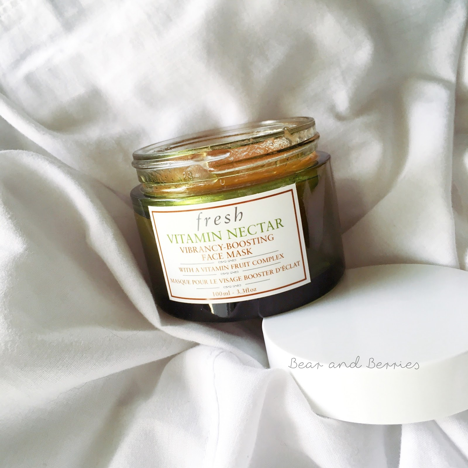 Fresh Vitamin Nectar Vibrancy Boosting Face Mask Review