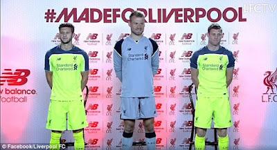 Liverpool gres baru ini merilis jersey ketiga mereka untuk mengarungi isu terkini  Berita Bola Hijau Adalah Warna Harapan Ujar Klopp