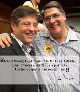 Mendes Ribeiro PMDB e Paulo Marques
