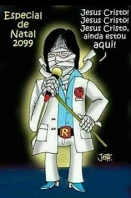 Todo ano o cantor está lá na Rede Globo cantando...
