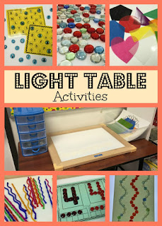 Light Table, www.JustTeachy.blogspot.com